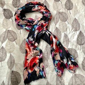 Kate Spade 100% Silk Floral Scarf